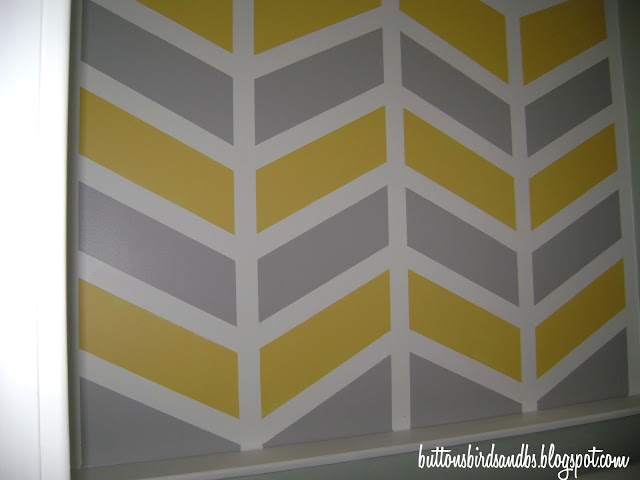 chevron template for walls - image source