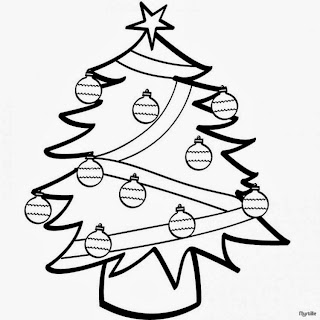 Christmas Images for Coloring, part 1