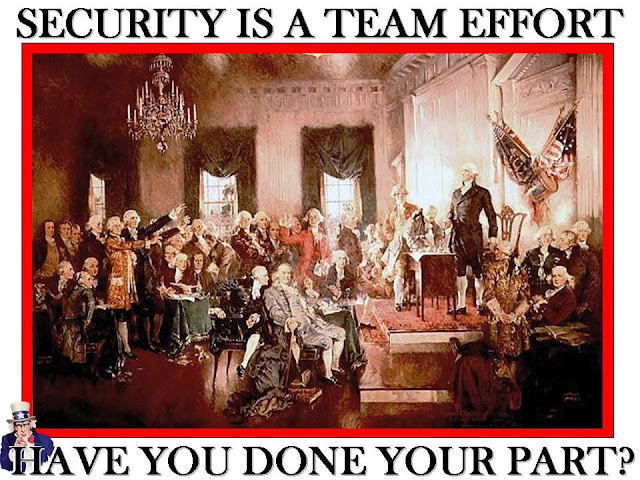 2nd Continental Congress security poster