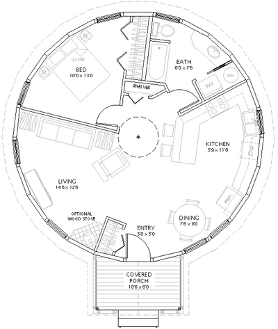 Building mom 39 s yurt a blog for Yurt home plans