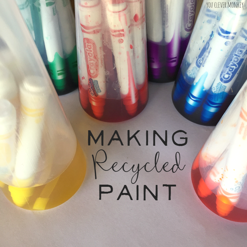 How To Make Recycled Paint
