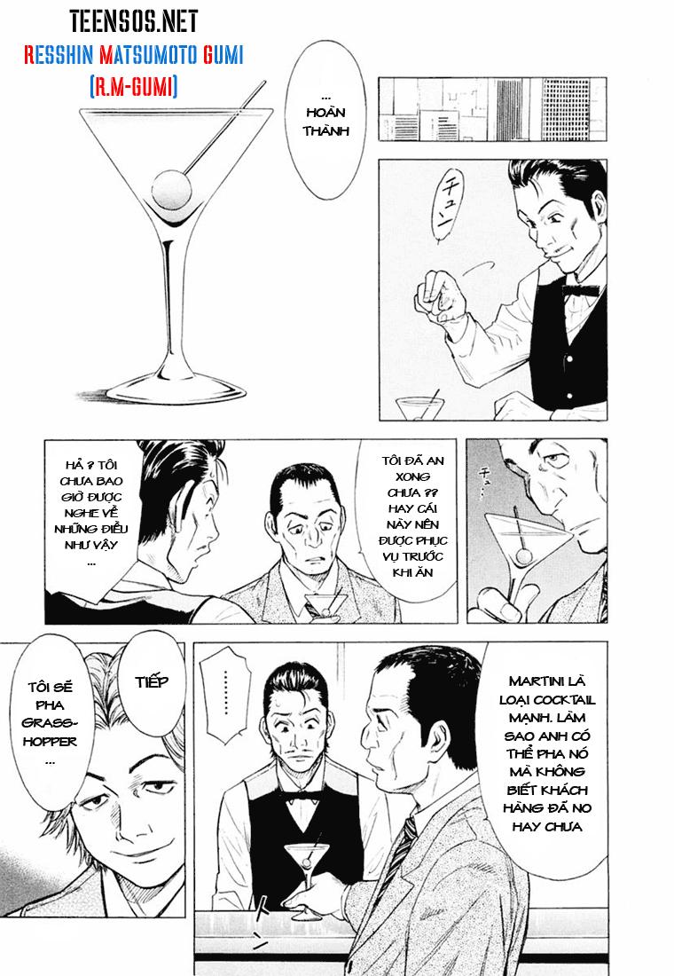 Bartender chap 1 Trang 16 - Mangak.info