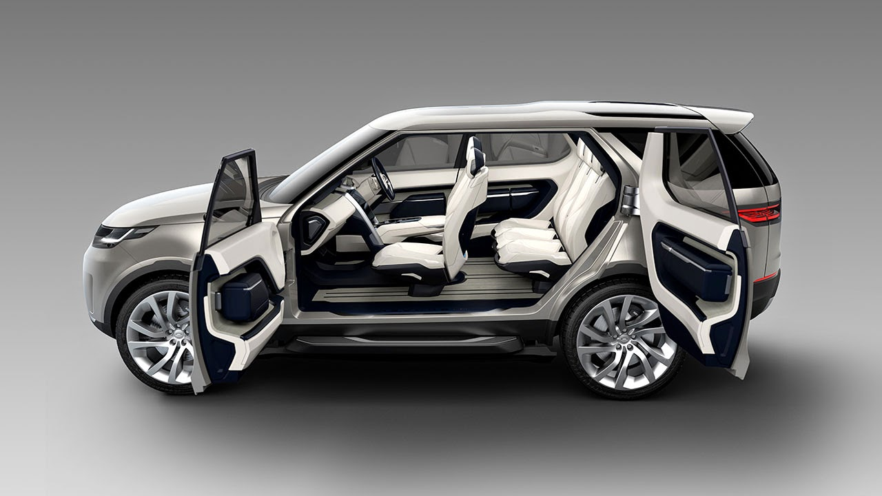 Land Rover Discovery Vision Concept doors