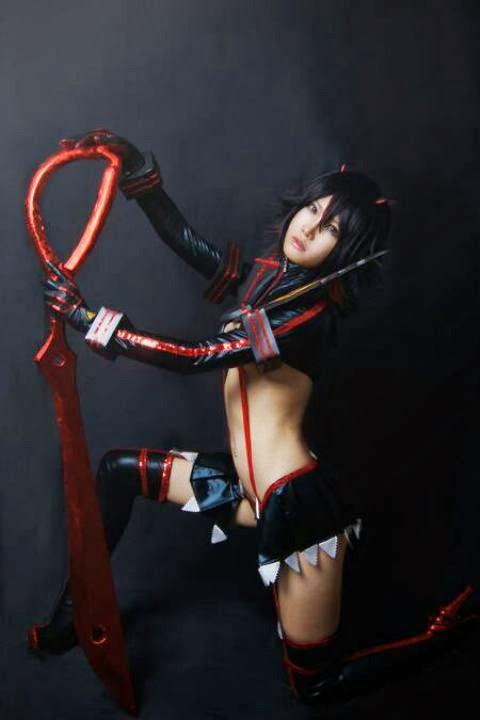 Another Cosplay Ryuko Matoi from 'kill la kill'