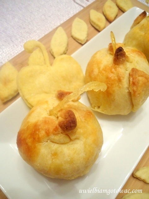 Jabłka w fartuszkach
