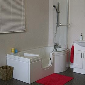 Satin: walk in bath / shower unit from Practical Bathing