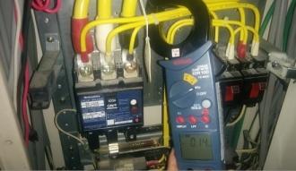 日々の電気管理★充電状態での絶縁点検異常なし!