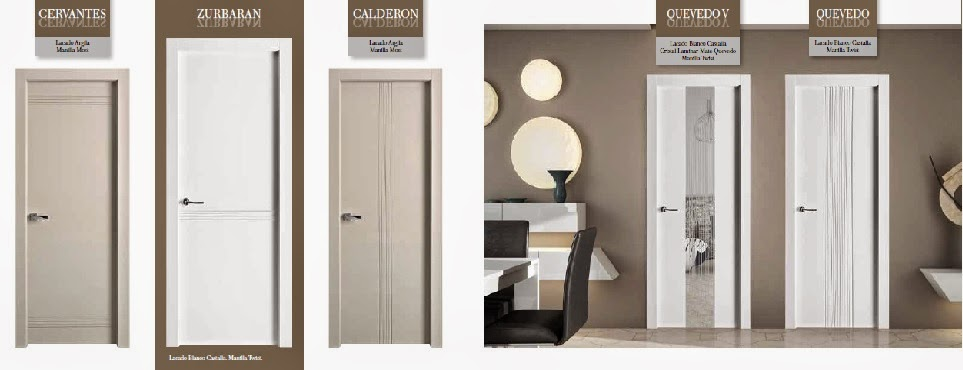 Made of wood puertas lacadas blanco modernas veamos los for Puertas blancas modernas