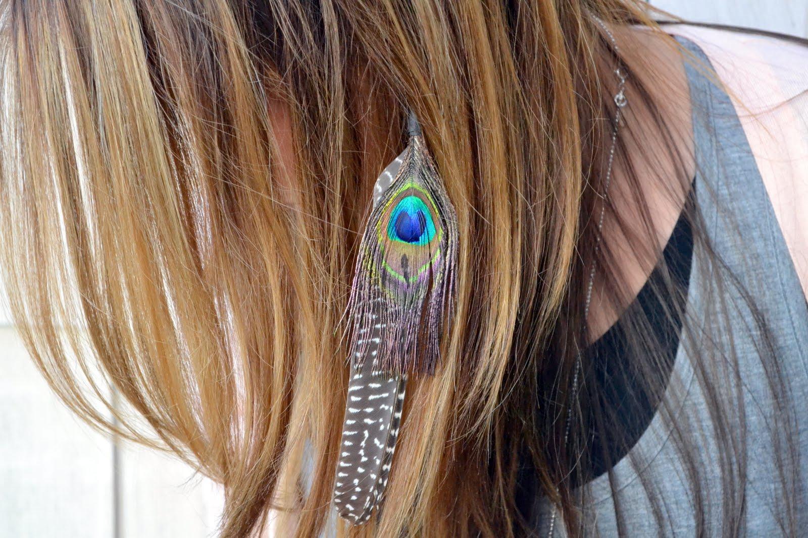 Diy Feather Extension Headband Tutorial Accessories Crafts Diy