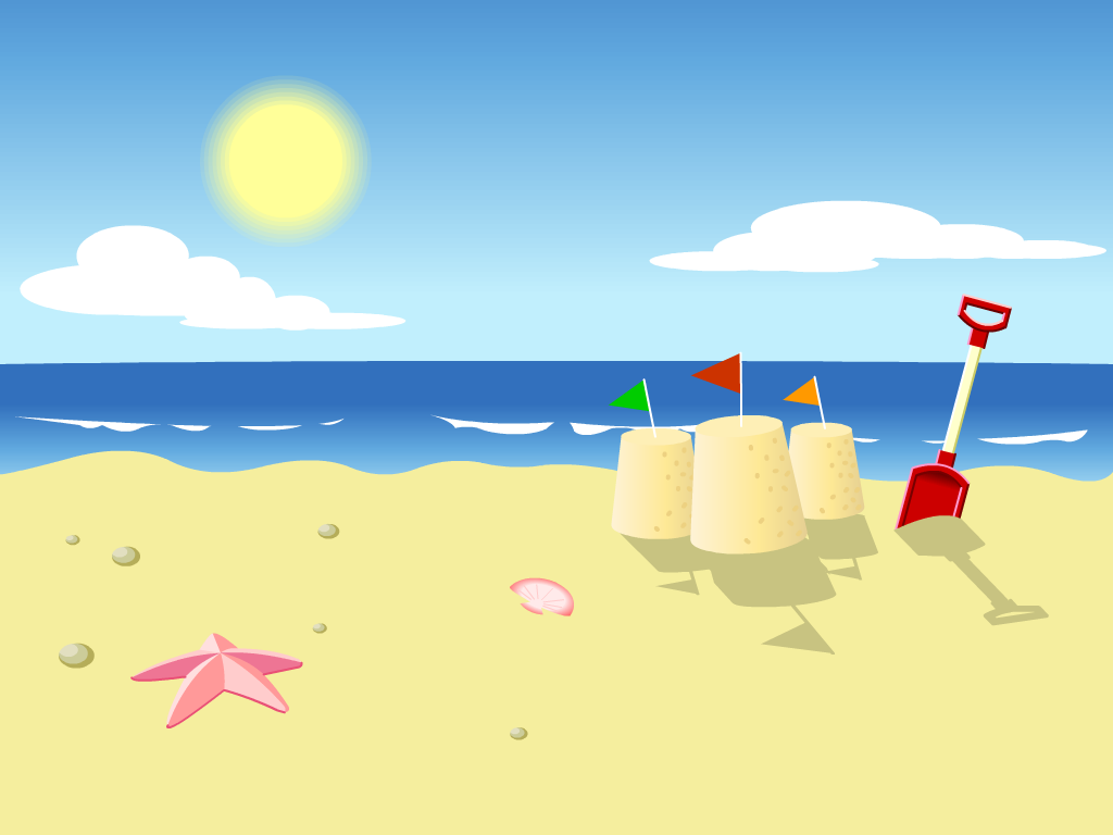 Cartoon Beach Wallpaper - Cartoon Images