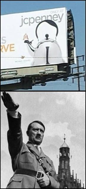 Kettle looks like Hitler