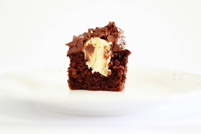 Cupcake tipo prestigio