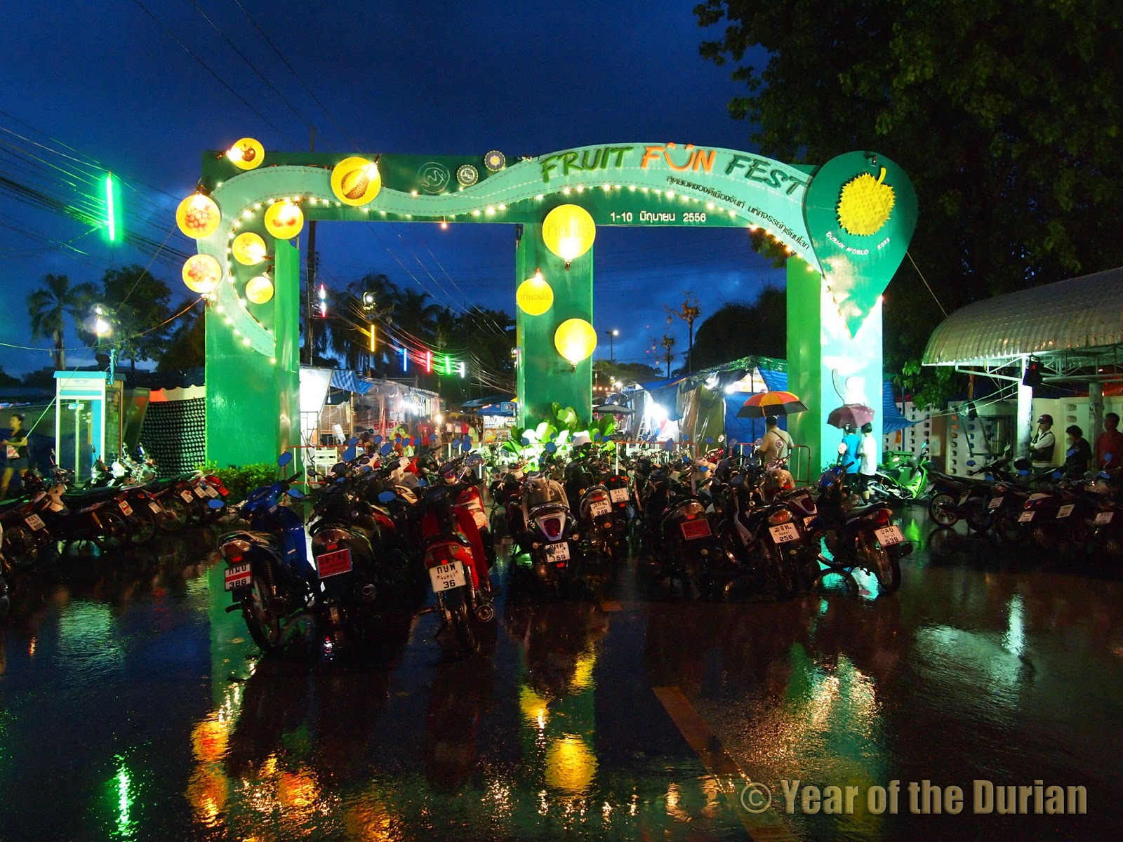 chanthaburi durian festival in the rain photo essay chanthaburi durian festival in the rain photo essay
