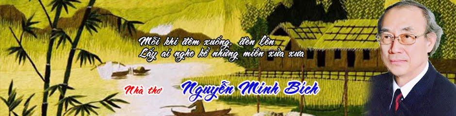 Nhà thơ Nguyễn Minh Bích