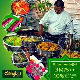 Songket Restaurant buffet price