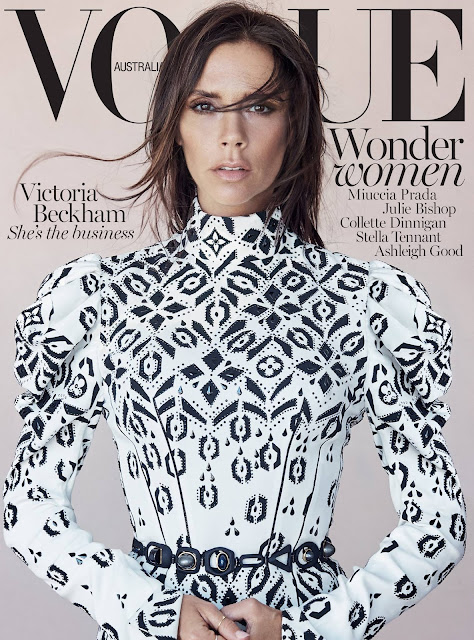 Singer, Model @ Victoria Beckham By Patrick Demarchelier for Vogue Australia, August 2015