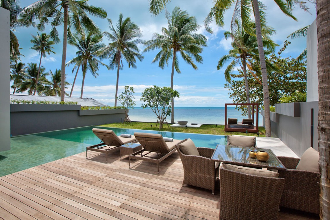 Luxury life design mandalay beach villas for Beach villa design