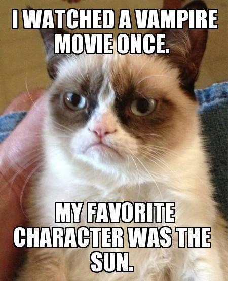 Vampire Unicorn 7 Has Arrived Grumpy-cat-vampire-movie-meme