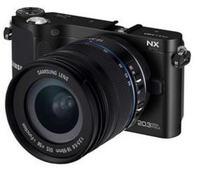 Specifications and Price camera Samsung NX-210 Update