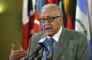 Brahimi Bujuk Iran Dukung Genewa 2
