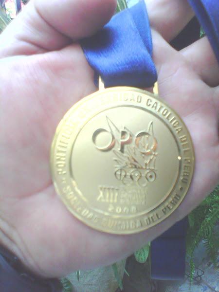 MEDALLA DE ORO XIII O.P.Q. 2008