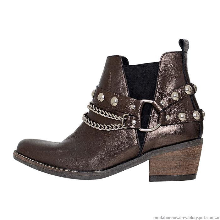 L'Tau otoño invierno 2015. Moda zapatos y botas otoño invierno 2015.