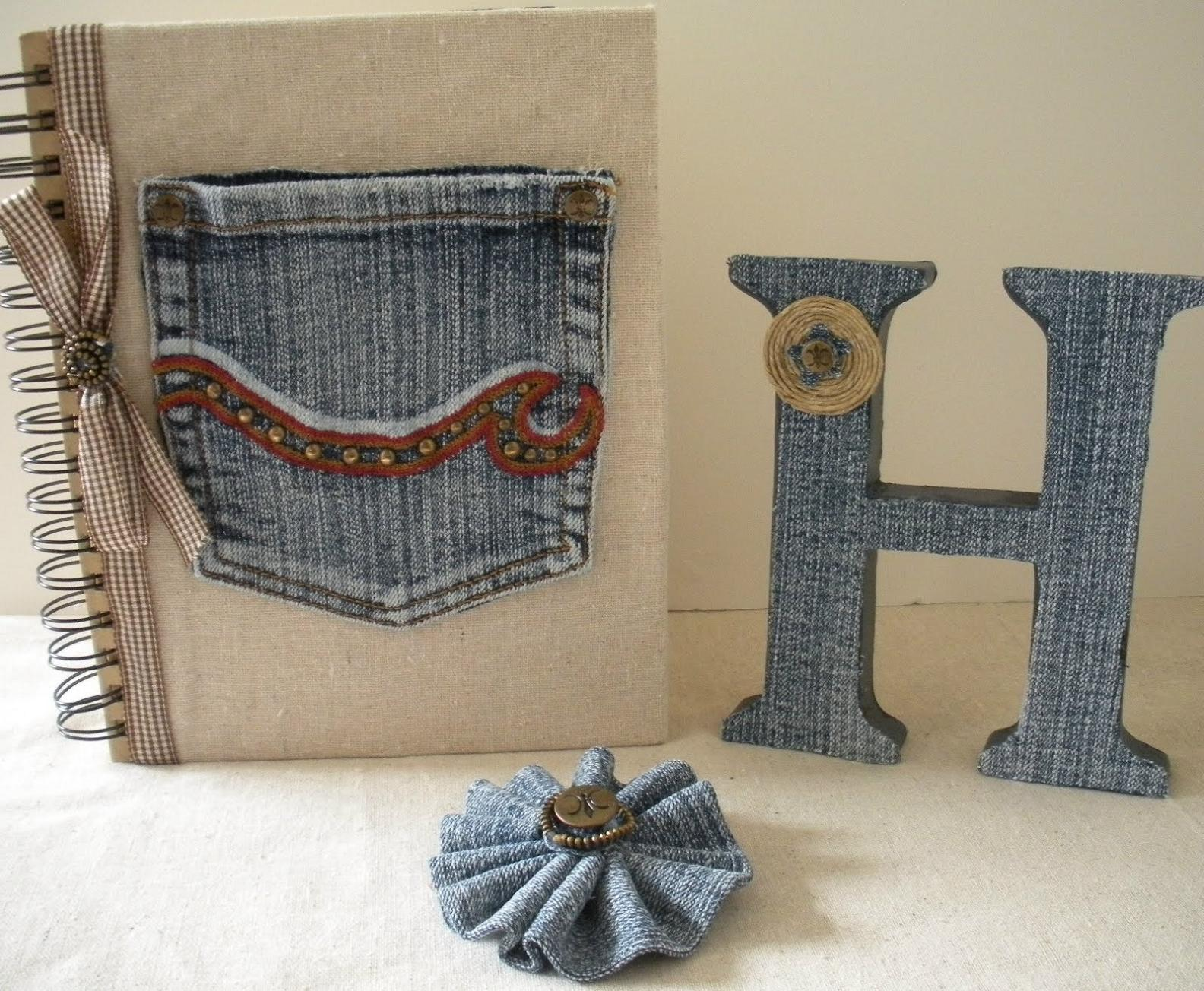 Crafts with Old Jeans