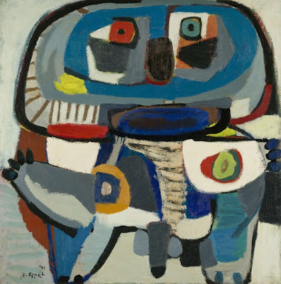L'homme carré, Karel Appel, 1951
