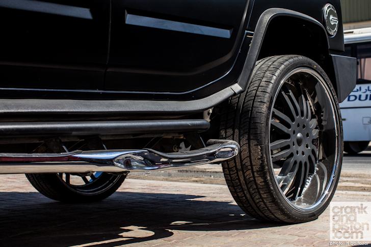 30 Inch Rims On Hummer H2 : Hummer h sut custom slantback on inch giovanna caracas