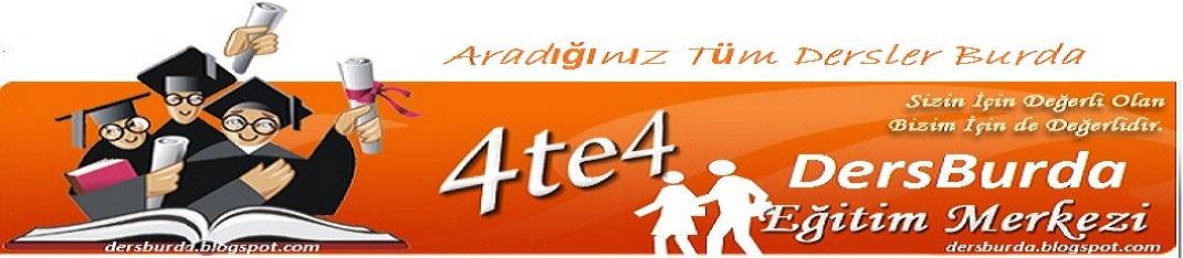 Ders Burda... Türkçe - Edebiyat - Matematik Ders anlatımı - Fizik - Geometri Ders anlatımı