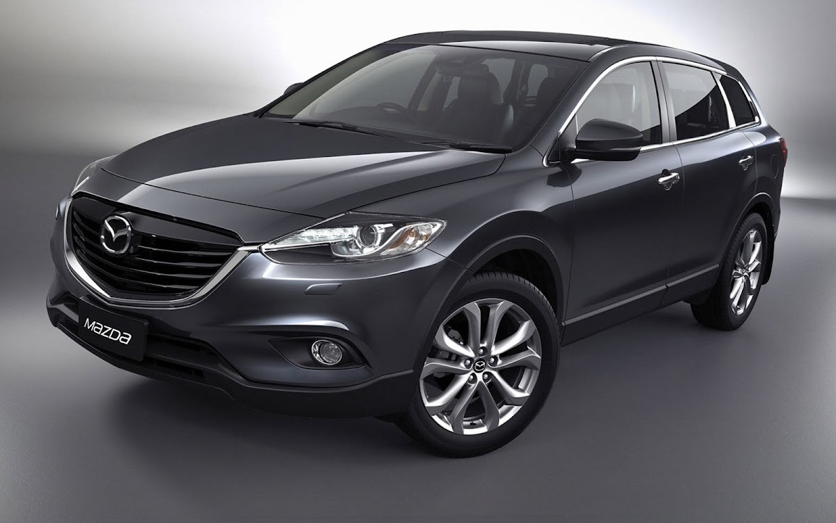 2013 Mazda CX 9 Widescreen HD Wallpaper 3