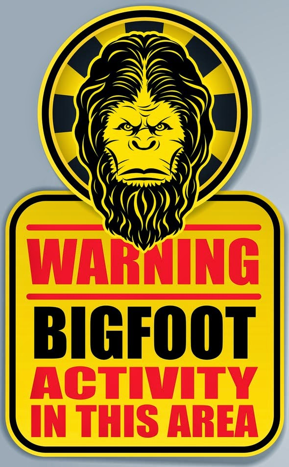 Bigfoot in the area
