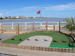 Miniature Golf on Clacton Pier