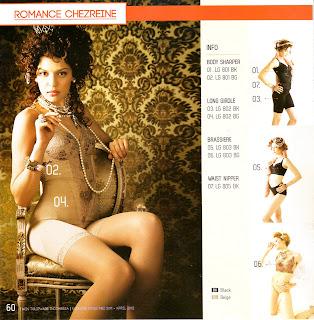 Info & Harga Twin Tulip Lingerie 2014 : Body Sharper | Long Girdle | Brassiere | Waist Nipper - Romance Chezreine