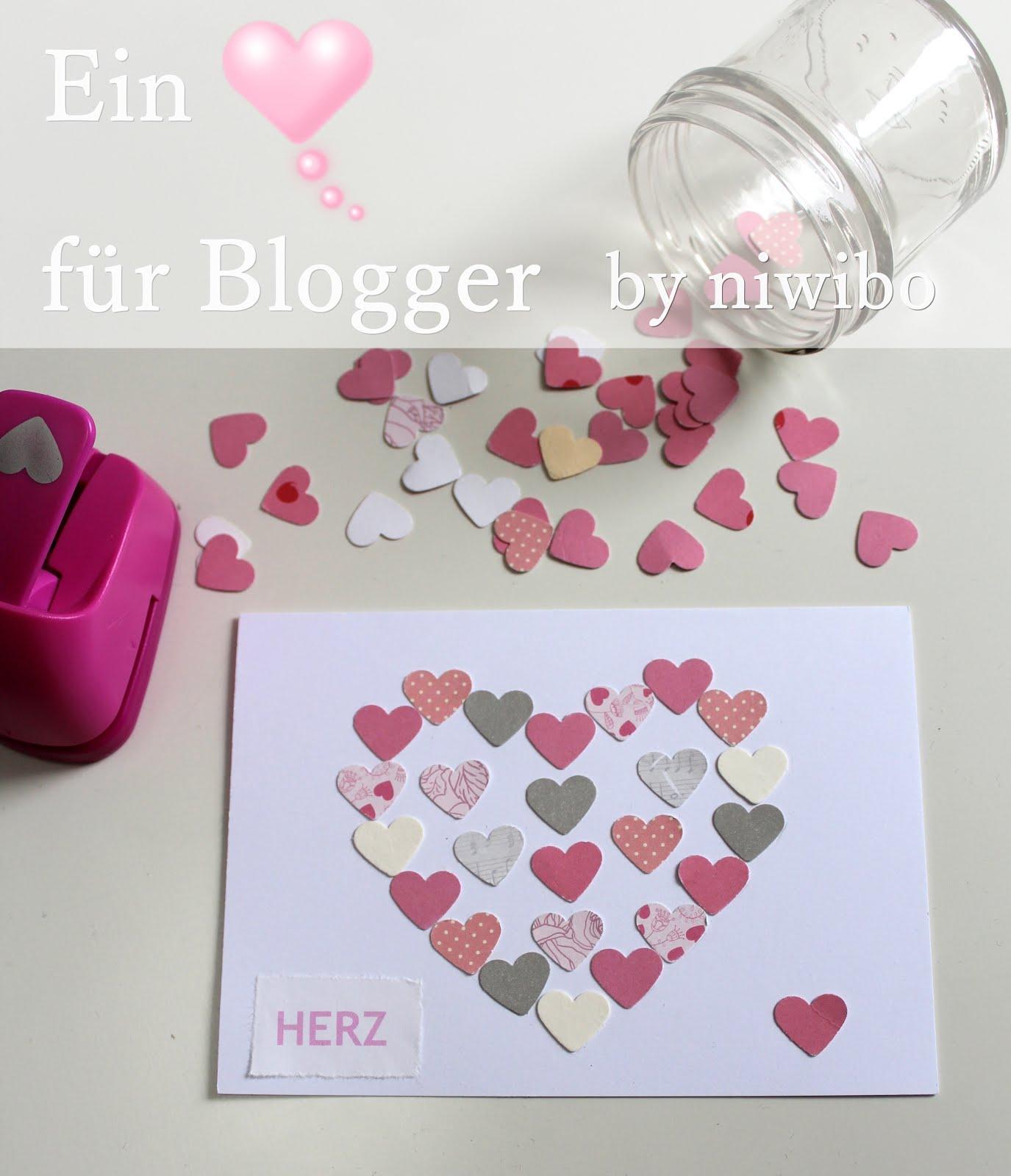 Ein ♥ für Blogger