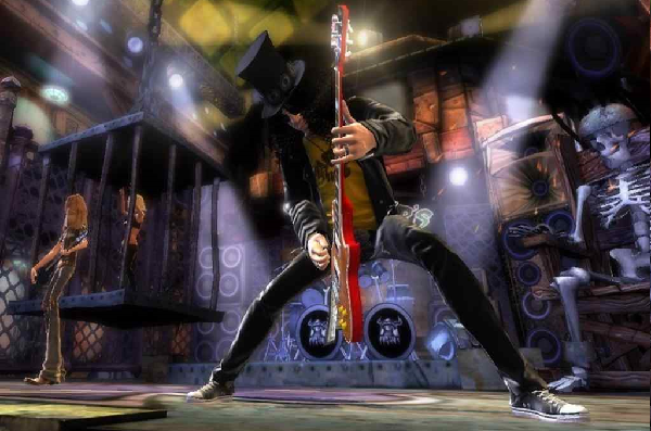 Slash Guitar Animation