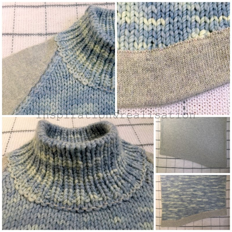 inspiration and realisation: DIY fashion blog: new sweater: thick ...