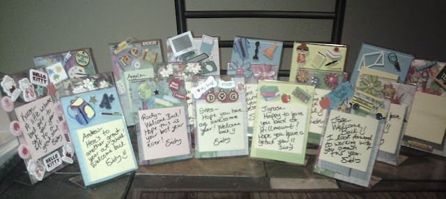 Picture of Post It Holders for Back to School @teachingisagift.blogspot.ca