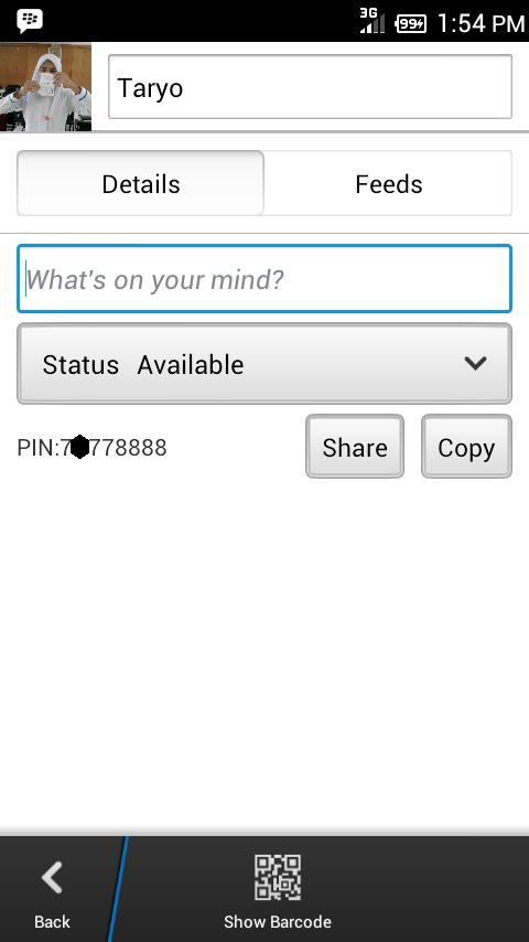Cara Mudah Merubah dan Membuat PIN BBM Cantik di Android