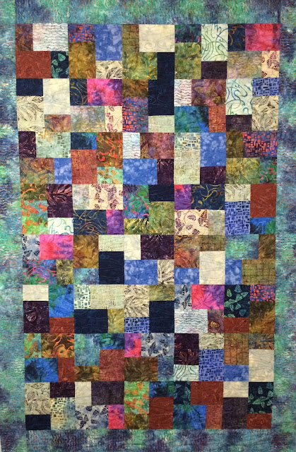 Mari Smith's North Country Trail Quilt