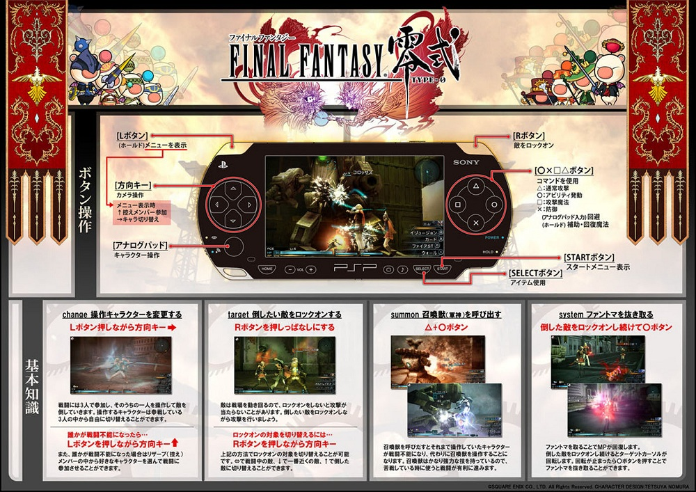PSP final fantasy type-0 demo
