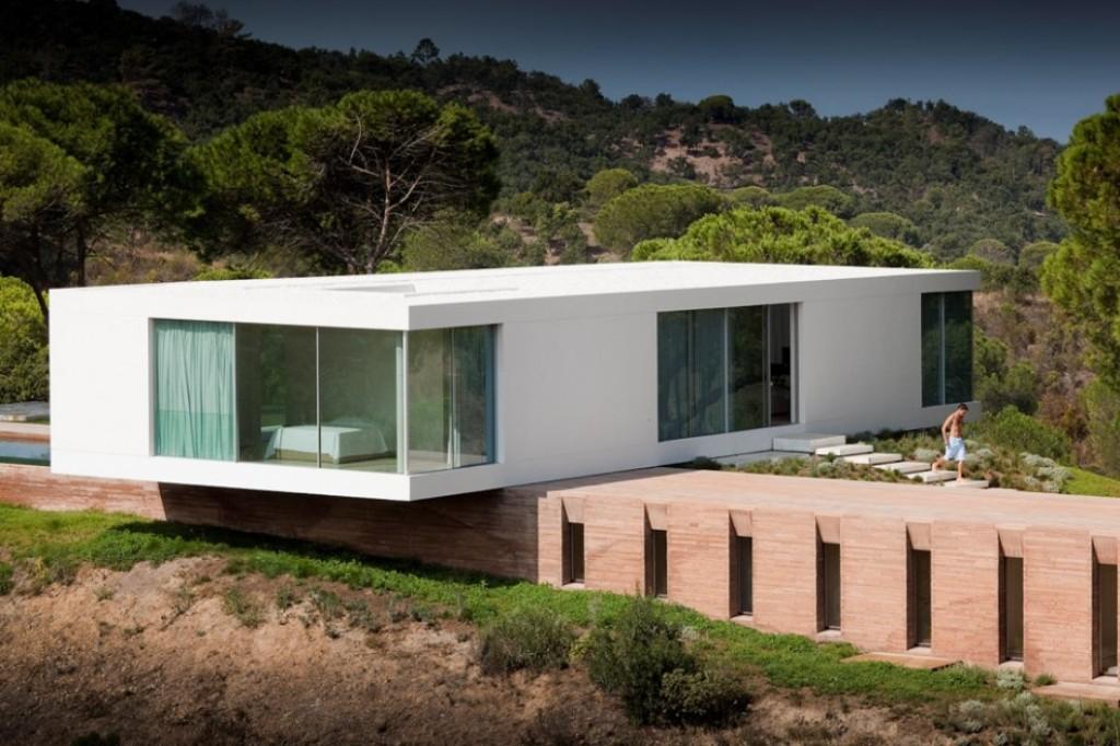 Modelos de casas dise os de casas y fachadas fotos for Casa moderna blanca