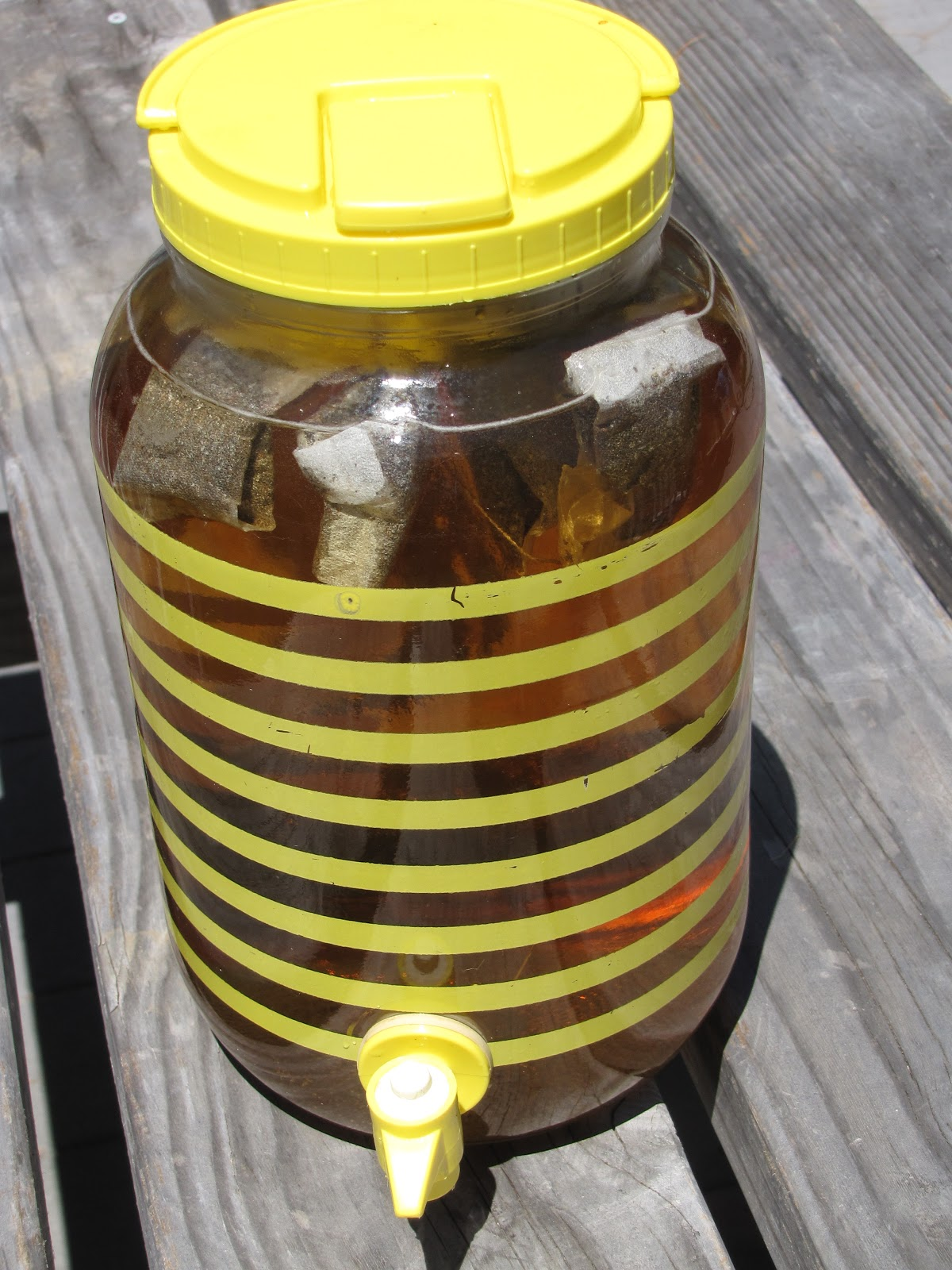 Sun Tea Recipe — Dishmaps