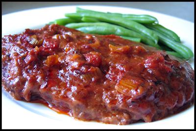 Swiss Steak In A Red Sauce