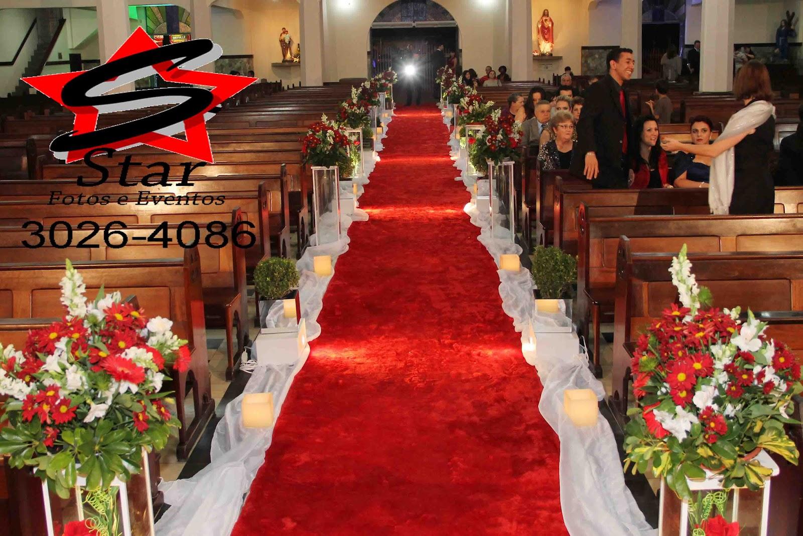 Decoracao Igreja Casamento Flores Rosas Brancas Com Portal Pelauts