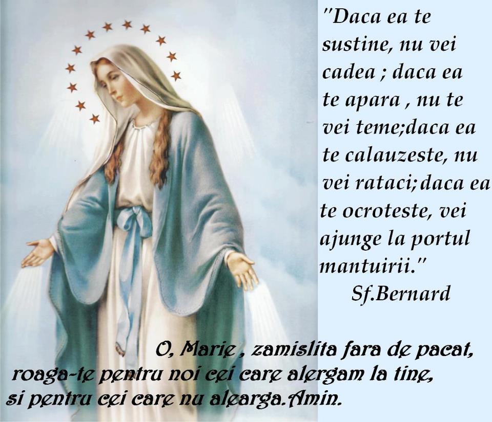 Inima Neprihanita a Mariei, roaga-te pentru noi !