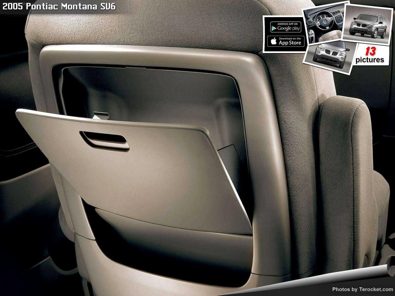 Hình ảnh xe ô tô Pontiac Montana SV6 2005 & nội ngoại thất