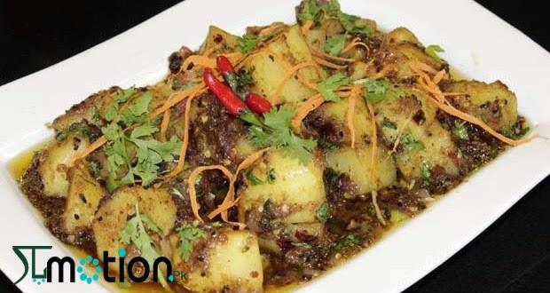 Recipe of aloo ki khatti meethi tarkari in urdu and english recipe of aloo ki khatti meethi tarkari in english forumfinder Images