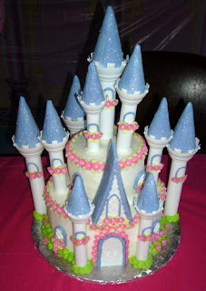 Girls Princess Birthday Cakes Designs