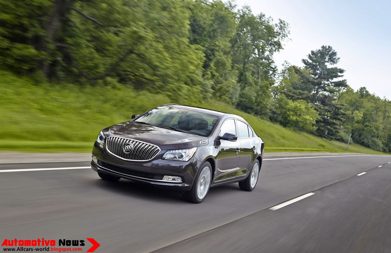 The buick lacrosse is equipped with a choice of two efficient engines the standard 2 4l four cylinder engine with e assist light electrification technology
